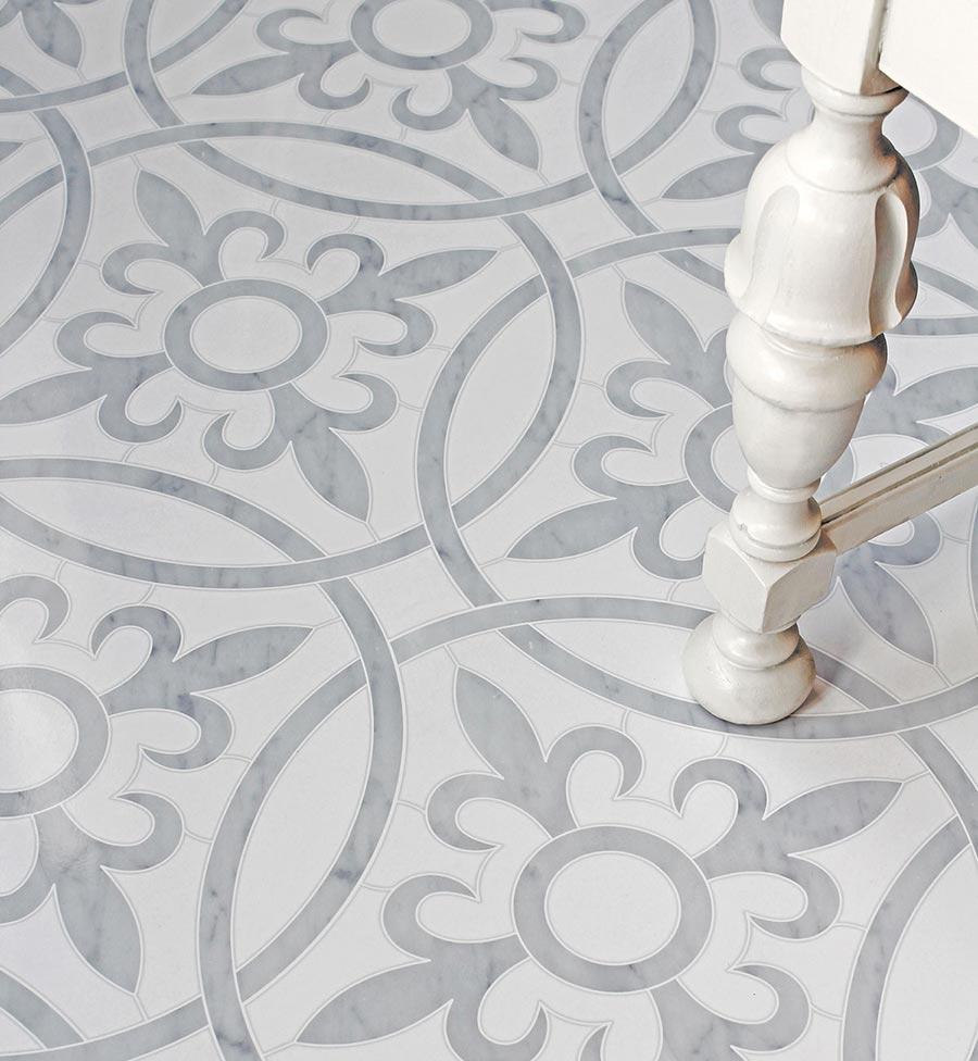Robert F Henry Tile Floor Pattern