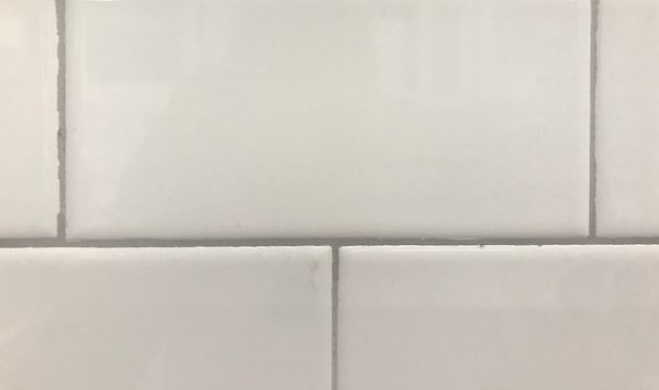 ice white gloss subway tile